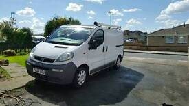 Vauxhall vivaro ex Bt FULLY SERVICED AND MAINTAINED BY BT