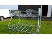 Metal Triple sleeper bunk beds