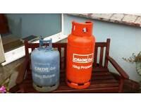 Calor gas bottles (empty)