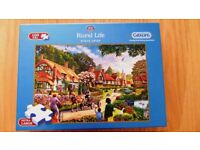 Rural Life extra large 100 piece puzzle for adults