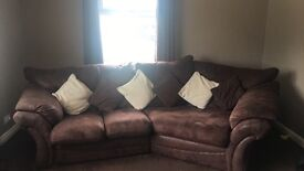Brown sofa, great condition £150