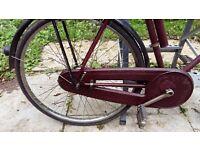 "Rudge 1940/1950's Man's cycle 26"" x 1. 3/8"""