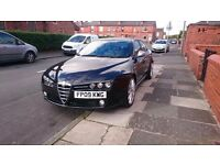 Alfa Romeo 159 1.9 jtdm Ti, heated leather, bluetooth, fsh
