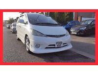 7 Seater --- 2003 Toyota Previa Estima Automatic --- 99000 Miles --- White Nice n Looking --- P X OK