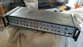 1970s Vintage HH MA 100 5 channel mixer amplifier series 1 (needs attention).