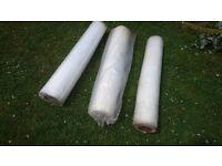 1000 Gauge Roll of Clear Polythene x3 Rolls
