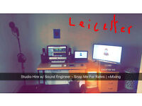 Studio For Hire w/ Sound Engineer | + Mixing