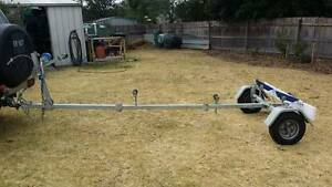 DUNBIER BOAT TRAILER, FOLDING/COLLAPSIBLE Stratford Wellington Area Preview