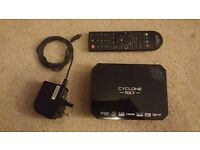 Sumvision Cyclone MKV HD media player and remote