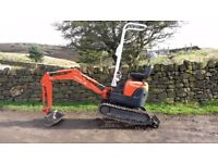 2011 Kubota U10-3 Micro Digger ( Low Hours,NO Vat )