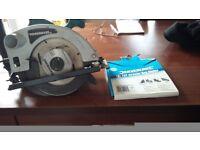 Powerbase circular saw and two blades