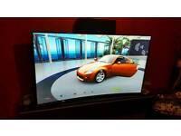 "Samsung 65"" UE65HU8200 Curved, 4K, UHD, 3D, Smart TV."