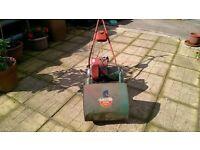 Suffolk colt petrol lawn mower