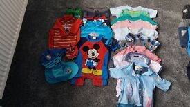 An assortment of boys clothing aged 18-24 months & 2-3 years.