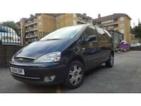 54 PLATE FORD GALAXY 1.9 TD 115 GHIA AUTOMATIC DIESEL 7 SEATER 1 YEAR NEW MOT