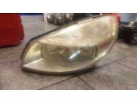 2005 RENAULT GRAND SCENIC PASSENGER NEAR SIDE HEAD LIGHT LAMP COMPLETE