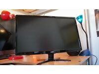 """Acer Gaming Monitor 24"""" 1080p 144hz - Great Condition"""