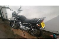 Yamaha YBR 125, 2009: MOT and TAX completed in April 2018