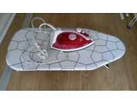 ironing table Jäll + iron tefal maestro 76