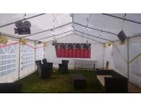 TOM'S MARQUEES, GAZEBOS, PARTY TENTS HIRE