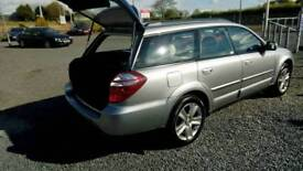 08 Subaru Outback AWD Auto 2.5 Estate FULL HISTORY MOT FEB 19 Nice car Can be Seen anytime