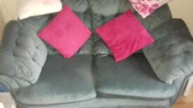 3 Piece Suite 1x Chair, 2x Two seater sofas