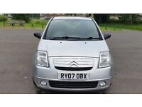 Citroen C2 1.4 HDi SX, Full Service History, Great condition, £30 tax, Free warranty
