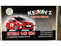 DRIVING LESSONS BY FULLY QUALIFIED FEMALE INSTRUCTOR £179 FOR FIRST 10 HOURS