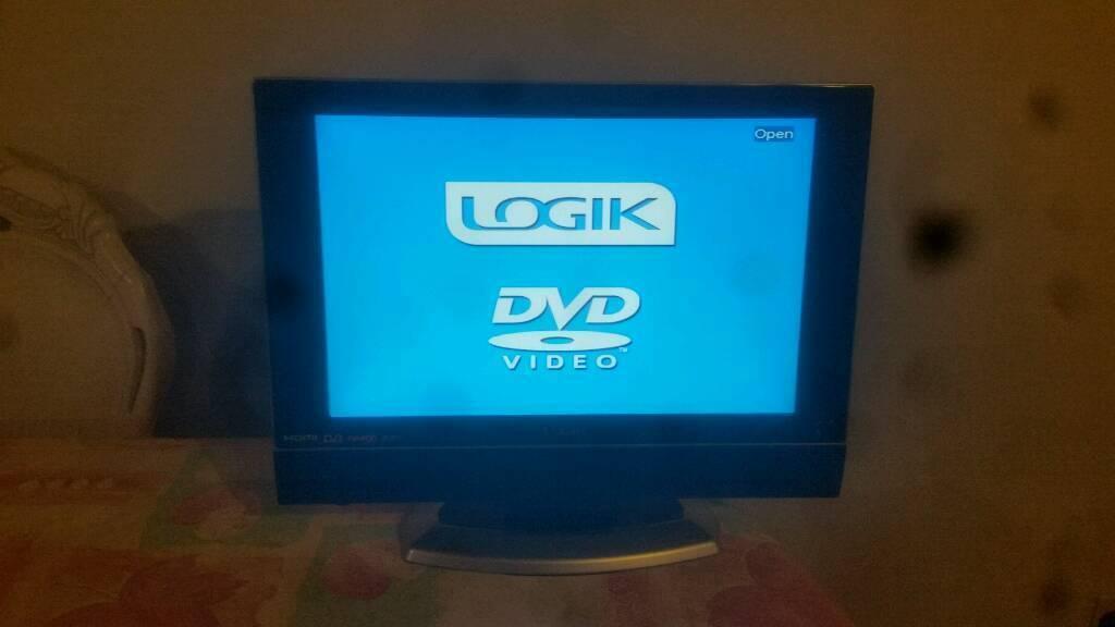 """19"""" logik digital HD tv hdmi usb"""