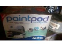 dulux paint pod roller system new in box