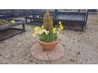 Garden Patio Planter with Stone under set