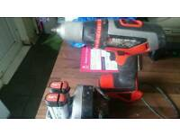 Combi hammer drill, black+decker