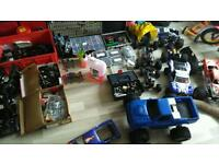 Job lot of rc cars, 6 cars in total, over £1000 worth of stuff