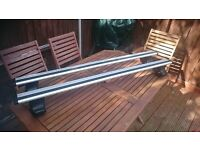 JAGUAR XF (X250), 4-dr Sedan, 08-15 (Roof bars / cross bars)