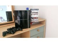 Faulty PS3 80gb. Lots of games!