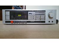 Vintage Pioneer CT-301 Stereo Cassette Tape Deck - FOR PARTS / REPAIR - *READ*
