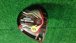 RH Callaway Great Big Bertha Tour Spec Stiff Flex *9 Driver