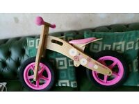 Girls Balance bike Apollo brought from Halfords £20 ovno