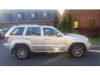 Jeep Grand Cherokee 3.0 CRD V6 4x4 5 dr Metallic Silver Mint Condition ONLY 49,500 miles