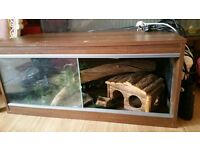 3 ft vivarium full set up