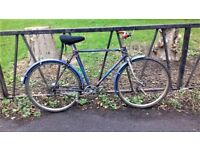 """Vintage 1960 Town Bike Bicycle. Fully Serviced, Ready To Ride & Guaranteed. 3 Speed. 19"""" Frame"""
