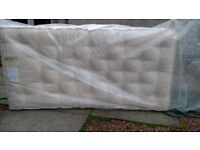 Single mattress, never used, marks and Spencer high quality, 1000 springs
