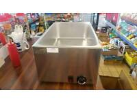 New Wet Bain Marie In Box SOLD BUT HAVE ANOTHER ONE USED WITH 4 PANS £125
