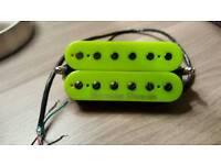Seymour Duncan Custom Neon Green Trembucker