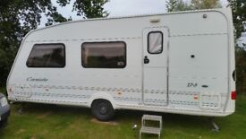 Swift corniche 17/3 year 2000 comes with full isabella awning used once also porch awning brand new