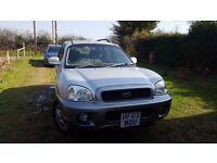 2003 Hyundai Santa Fe 4x4 Diesel