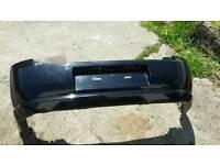 Vectra rear bumper z20r black sapphire elite design Sri