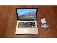 Macbook Pro 13 inch 2011 - 2012 laptop 256gb SSD Intel 2.3ghz Core i5 processor & backlit keyboard