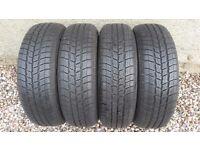 4x Winter Tyres 175/65/14 - 175 65 14 - 175/65/R14