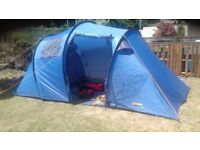 4 Man Tent with accessories